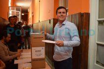 Elecciones 2019: Votó Federico Aguilera «lo que más importa es que la gente tiene la posibilidad de participar y elegir»