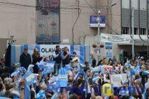 Macri en Olavarría:  A las marchas del «Sí, se puede» se van a «defender valores»