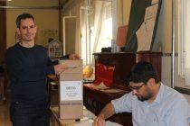"""Elecciones 2019: Votó Gonzáles Hueso; """"Hoy se empieza a escribir un nuevo ciclo en Olavarría, la provincia y la Argentina"""""""