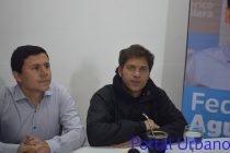 Axel Kicillof en Olavarría: «pensamos Gobernar con mucha presencia»