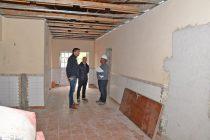 Se reinició la obra en el Jardín de Infantes Nº 930