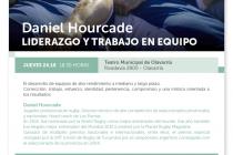 El ex DT de los Pumas Daniel Hourcade brindará una charla en el Teatro Municipal