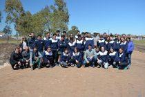 El Intendente visitó la pista con los atletas que nos representaron en los Bonaerenses