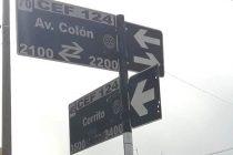 La calle Cerrito entre Av. Colón y Sarmiento será mano única desde este miércoles