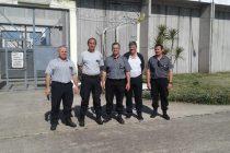 El nuevo Jefe del Complejo Zona Sur visitó la Unidad Penitenciaria n°17 de Urdampilleta