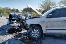 Cañuelas, Ruta 205: Choque frontal con un herido grave