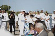 ARA San Juan: con mucho dolor  recordaron a los submarinistas