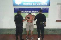 Agredió a la policía luego de amenazar a un mujer: Fue aprehendido