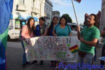 Se movilizaron contra el Golpe de Estado en Bolivia