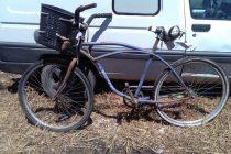 Encontraron una bicicleta playera y buscan a sus dueños