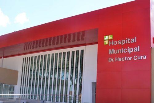 Un empleado cayó de más de 3 metros de alto y terminó en el Hospital