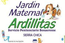 Se encuentra abierta la inscripción al Jardín Maternal Ardillitas