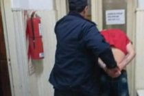Intentó escapar pero terminó aprehendido por la policía