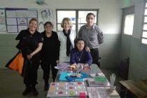 Visita al taller de braile de la Unidad n°38