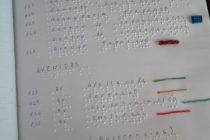 Alumnos de la Unidad 38 confeccionaron folleto turístico de Olavarría en braille