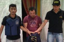Detuvieron a un hombre de 32 años condenado por una causa del 2014