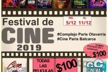 Llega el Festival 2019 a Cine Paris