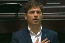 Axel Kicillof juró como gobernador de la provincia de Buenos Aires