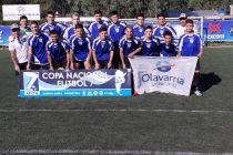 La selección de Colonias y Cerros gano en su primera presentación en la copa Nacional de Fútbol 7