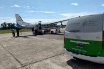 La Provincia volvió a utilizar un avión propio para un operativo de donación de órganos tras el desguace del macrismo