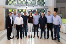Ezequiel Galli junto a referentes del Pro se reunieron para definir los pasos de la oposición