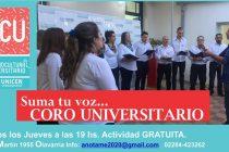 Comienza la actividad del coro universitario en el CCU
