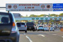 Fin de semana de Carnaval: circulación intensa en la rutas por el regreso de los turistas