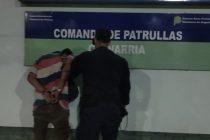 Disturbios en la vía pública, un policía herido y un joven aprehendido