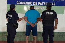 Amenazó a una mujer con un arma, huyó pero fue detenido por la policía