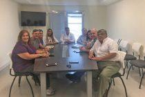 El Municipio se reunió con personal de la Facultad de Ciencias de la Salud