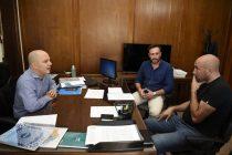 El diputado Valicenti y el intendente Raliqueo se reunieron con Avelino Zurro en el Ministerio del Interior de la Nación