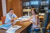 Aguilera se reunió con Laura Alonso secretaría de inclusión social de Nación
