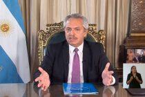 Cuarentena obligatoria: Alberto Fernández agradeció a los argentinos por «haber comprendido»