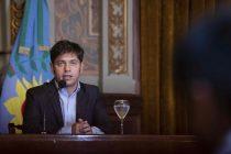 Axel Kicillof abre un nuevo período de sesiones de la Legislatura bonaerense