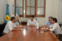 El Intendente se reunió con representantes de la Unión Industrial