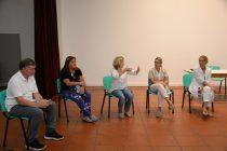 El equipo de salud mantuvo una reunión con autoridades educativas