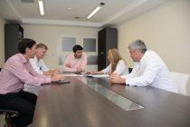 El intendente Ezequiel Galli se reunió con el equipo de salud
