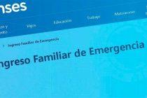 La Anses informará a partir de este lunes quienes podrán continuar su trámite para cobrar el IFE