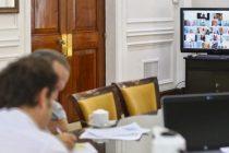 Kicillof conversa con intendentes para establecer el alcance de la nueva cuarentena
