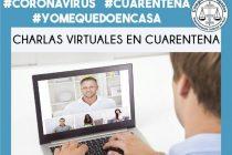"""Récord de participantes en las """"Charlas virtuales en cuarentena"""""""