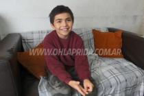 Lapridense tiene 8 años y donó todos sus ahorros al Hospital