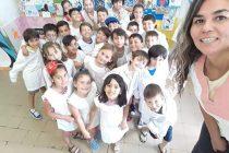 """Rosa: """"es re importante que los docentes acompañemos no sólo  a los alumnos sino también a las familias""""."""