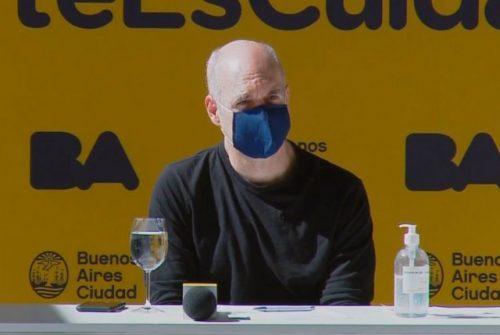 Horacio Rodríguez Larreta fue dado de alta de coronavirus