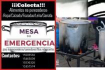 La Mesa de emergencia agradece a sus colaboradores y continúan con la colecta solidaria