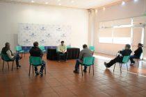 El Intendente en una reunión agradeció al centro de Panaderos por la donación de equipamiento para el Hospital