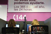 Violencia de género: durante marzo se recibieron más de 1800 denuncias a la línea 144
