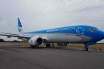 Llegó el primer vuelo de Aerolíneas Argentinas con insumos médicos desde China