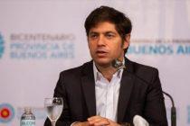 """Kicillof: """"El permiso para circular es obligatorio en la provincia"""""""