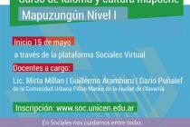 "Curso virtual de Idioma y Cultura Mapuche: ""Mapuzungun"" nivel I"
