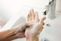 Lavarse bien las manos puede salvar vidas